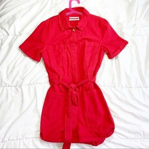 Urban outfitters Red Orange Romper S